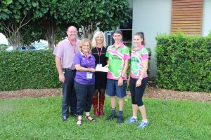 Donation to the Mareeba Friends of the Hospital Foundation