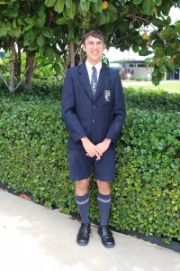 Aaron Bryce attends the National Youth Science Forum