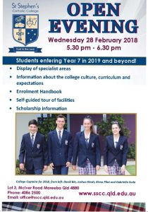 St Stephen's Catholic College – Open Evening