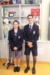 Keeley and Dylan attend the National Youth Science Forum
